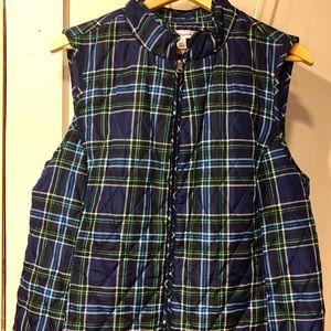 Women's Croft & Borrow plaid vest